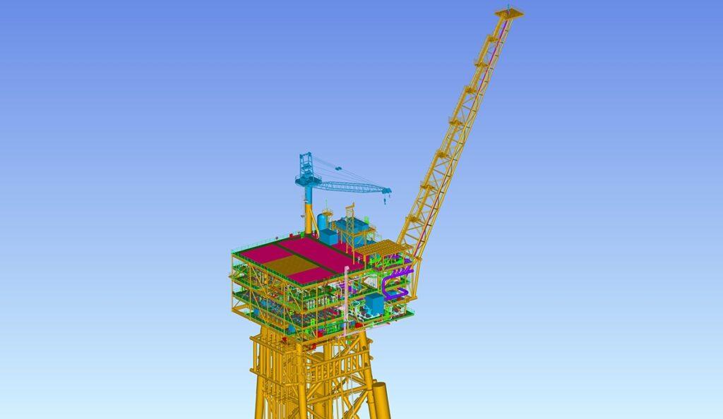 Model of Gallaf Project Phase 3 - Qatar