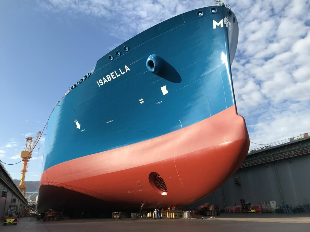 DSME delivers new LNG carrier Isabella to Maran Gas