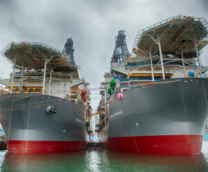 Transocean drillships