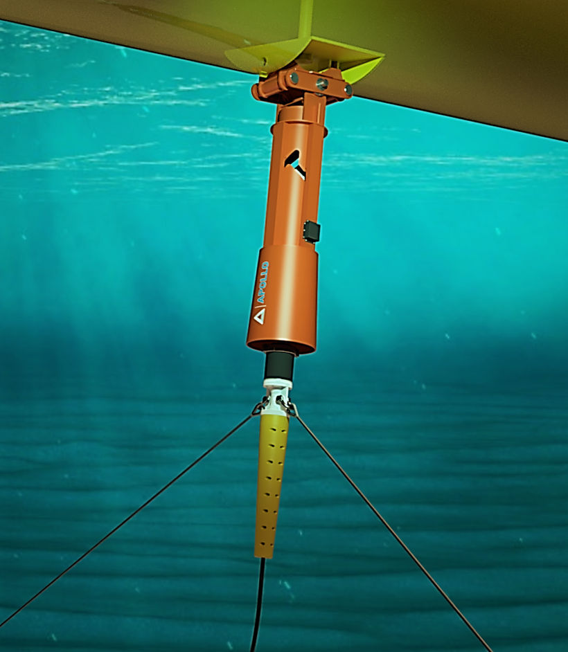 Image showing the PALM connector for wave energy converters (Courtesy of Apollo Engineering)