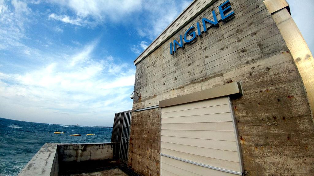 Illustration/Ingine's wave energy demonstration plant in Jeju Island, South Korea (Courtesy of Ingine)