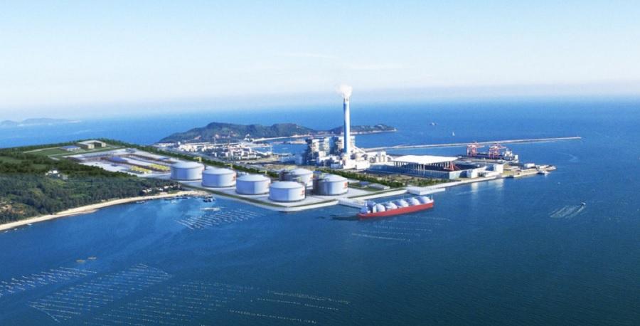 TGE inks tank deal for Huizhou LNG terminal