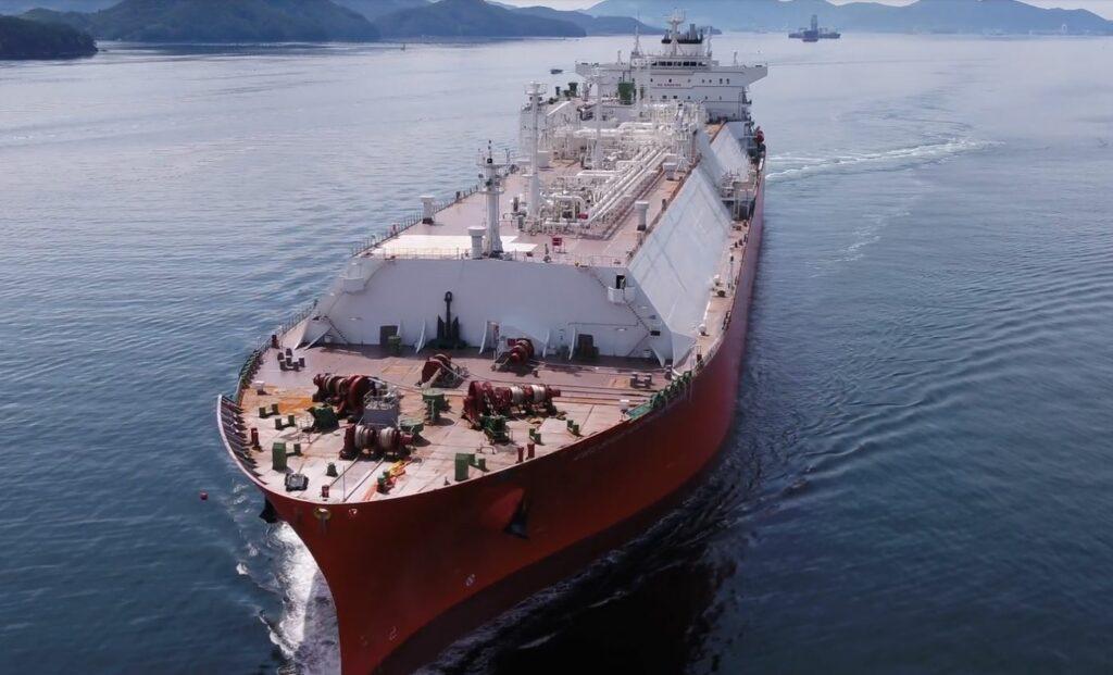 Samsung delivers LNG tanker Celsius Carolina