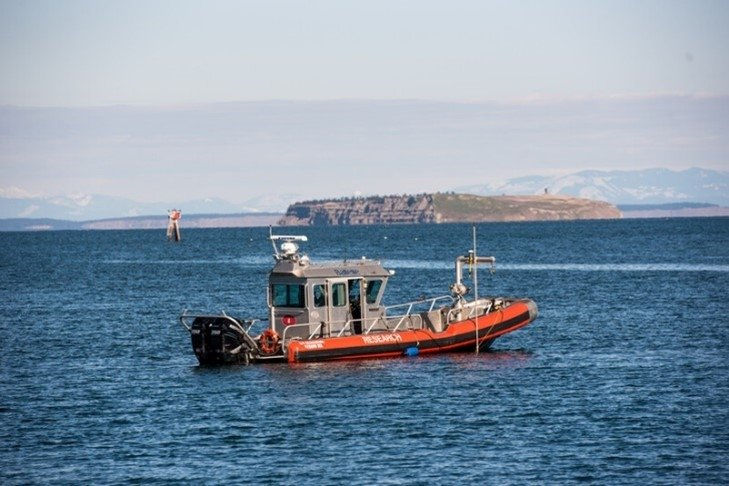 Photo showing the Clallam Bay (Courtesy of U.S. DOE/Photo by Andrea Starr)