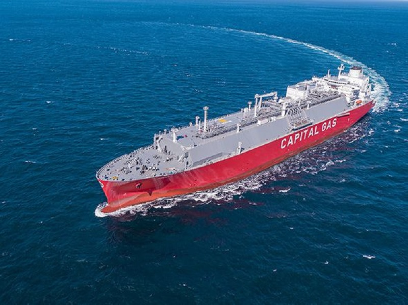 LNG carrier Adamastos delivered to Capital Gas