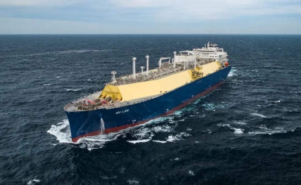 Hudong-Zhonghua holds naming ceremony for MU LAN LNG carrier, built for CSSC (Hong Kong) Shipping