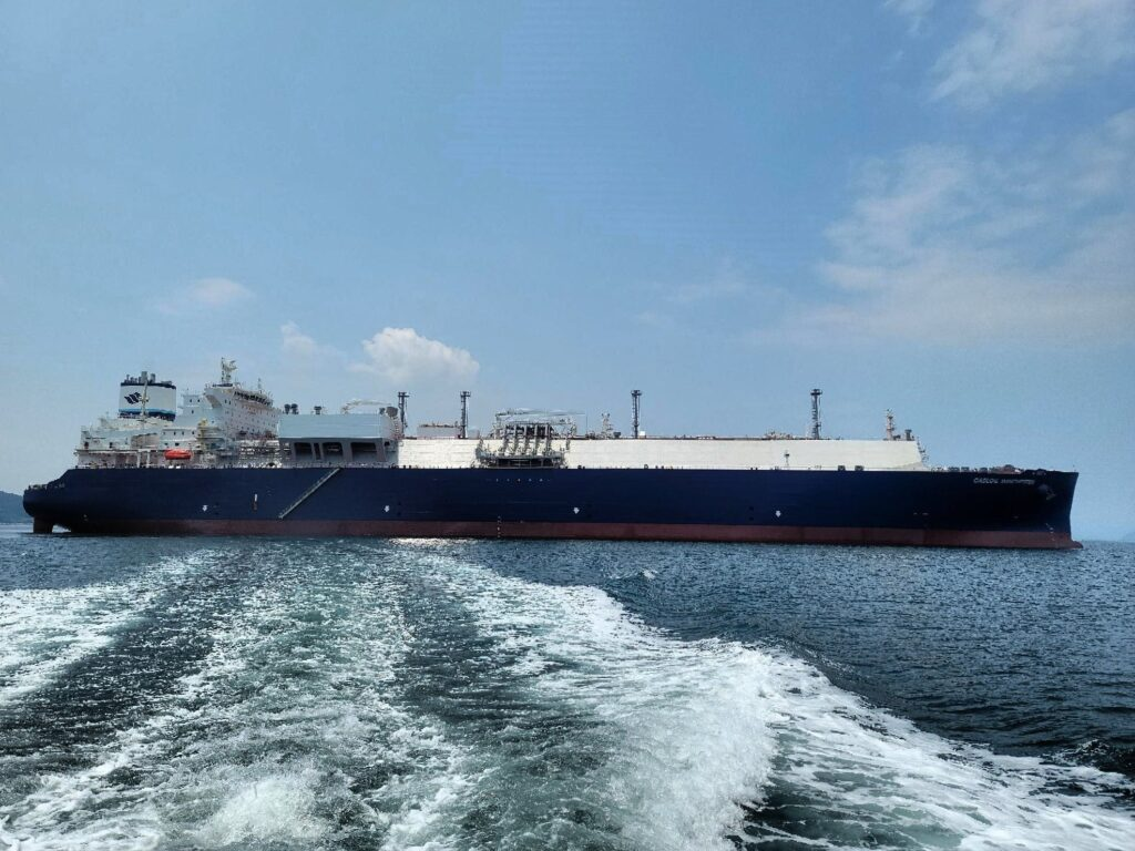 GasLog Winchester Samsung Heavy Industries launches GasLog's new LNG carrier