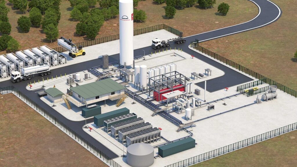 Factory LNG: : MAN and Woodside join in on LNG technology