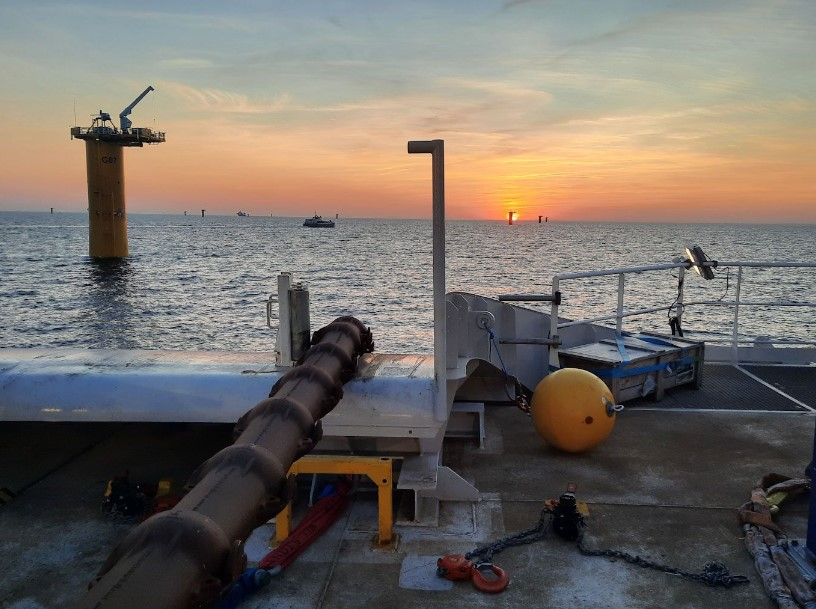 Inter-array cable installation begins at Saint-Nazaire OWF
