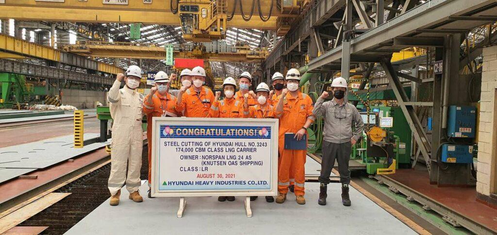 HHI starts work on PGNiG-chartered LNG carrier