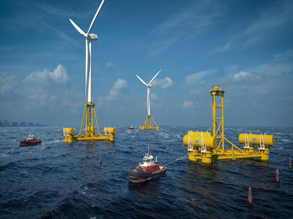 Illustration/Marine energy technology developed by Welsh-based company Marine Power Systems (Courtesy of Marine Power Systems)