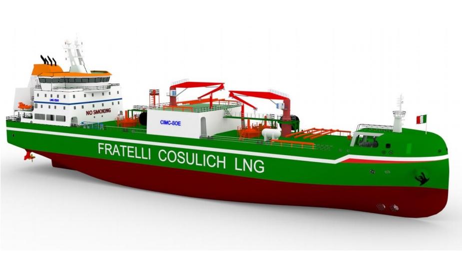 LNG bunkering; Wärtsilä scores Fratelli Cosulich's LNG bunkering vessel gig