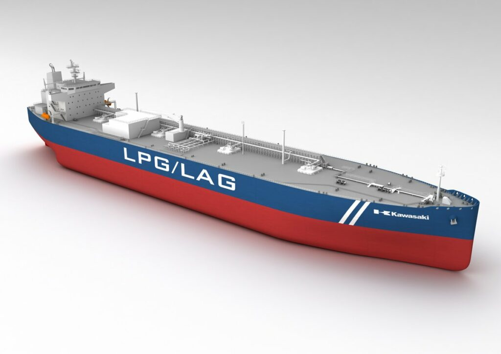 VLGC, ammonia; K Line agrees with Gyxis on new LPG/LAG carrier time charter