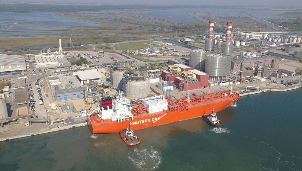 Edison started 1st discharge of LNG in Ravenna small-scale terminal