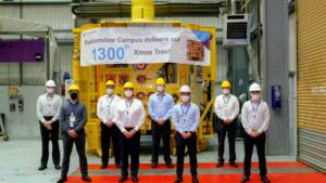TechnipFMC's Dunfermline Campus rolls out milestone 1,300th subsea Xmas tree