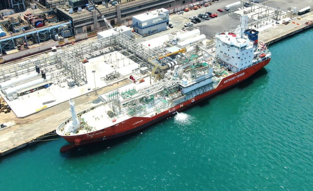 New Fortress Energy ties up Sri Lanka's LNG terminal deal
