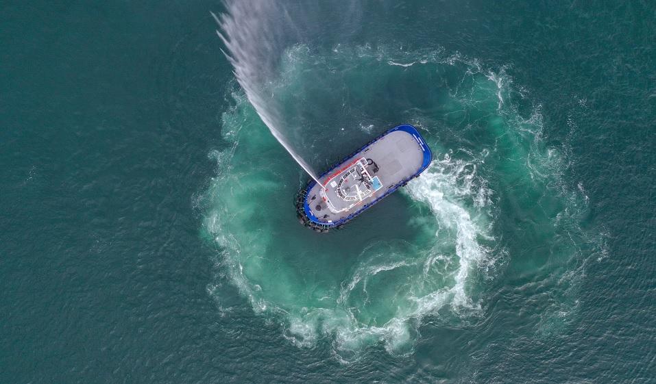 Navtek; World's first zero-emissions tugboat proves performance