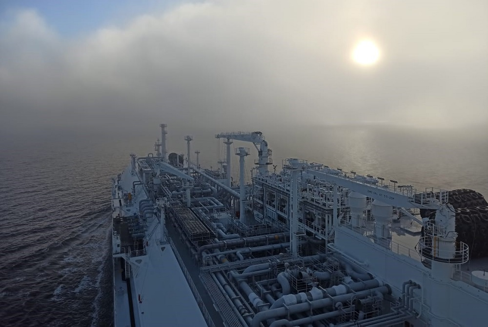Sovcomflot; FSRU Marshal Vasilevskiy wraps up first LNG cargo loading