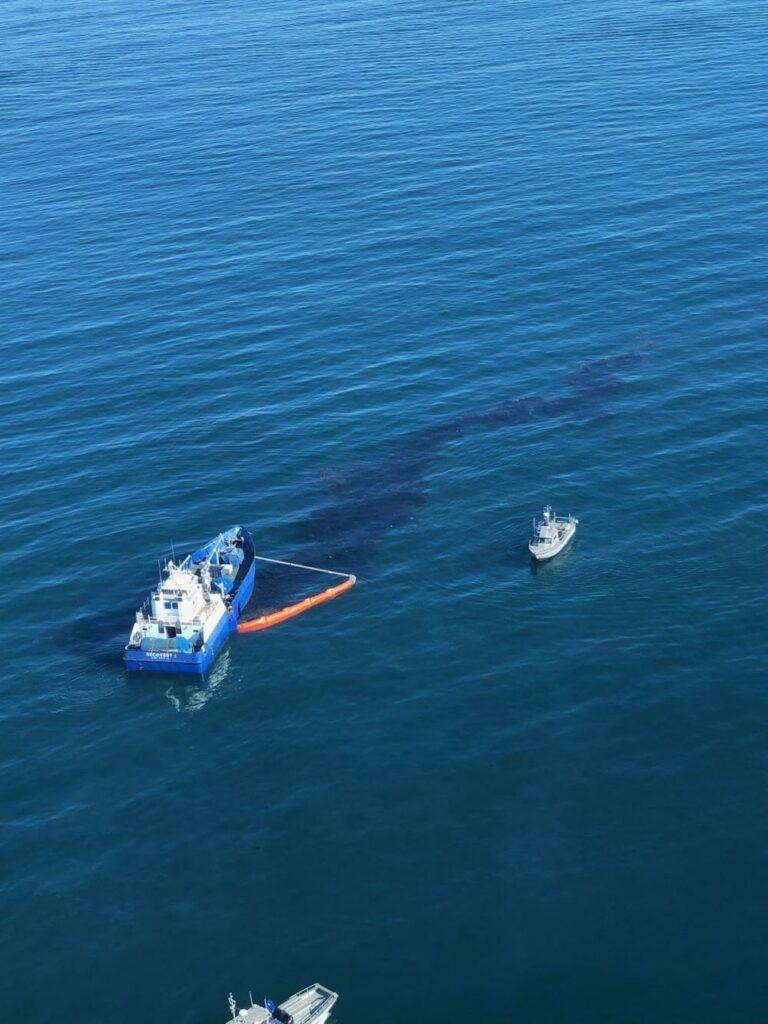 oil spill - U.S. Coast Guard