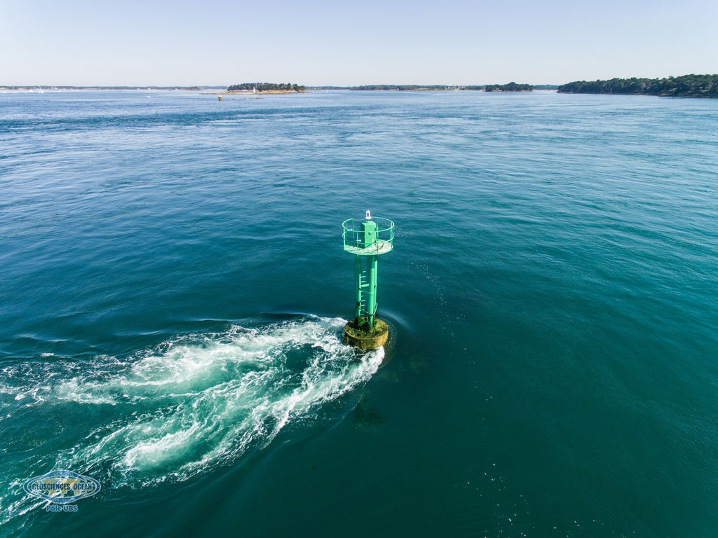 Bathymetry campaign at the Gulf of Morbihan has been performed ahead of installation of Sabella's turbines (Courtesy of TIGER)