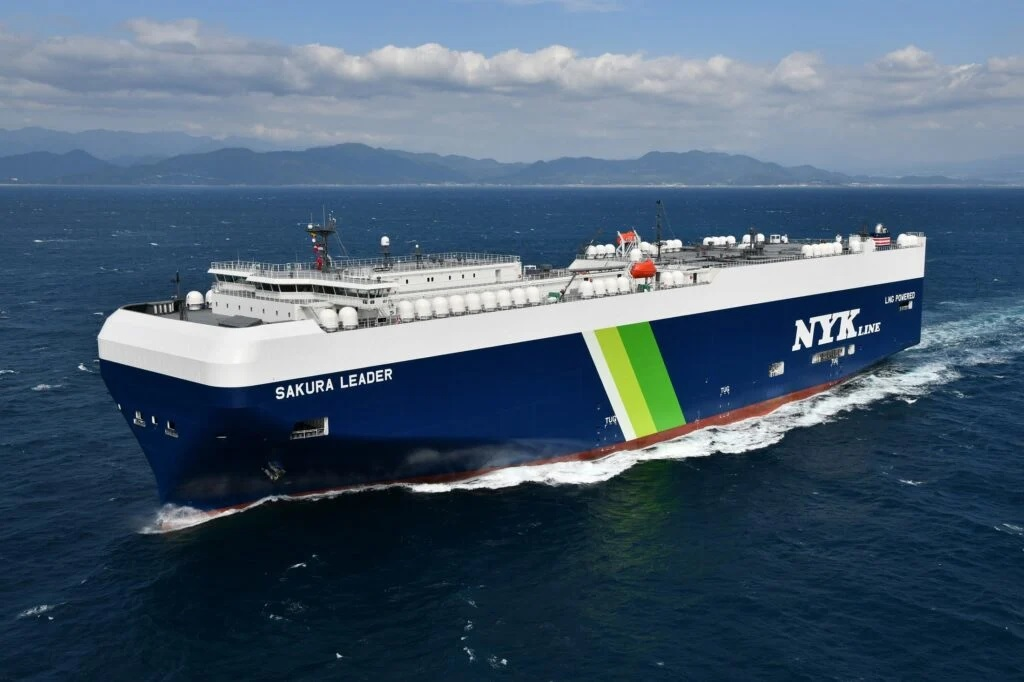 NYK uses LNG bunkering as bridge solution towards zero-emission ships