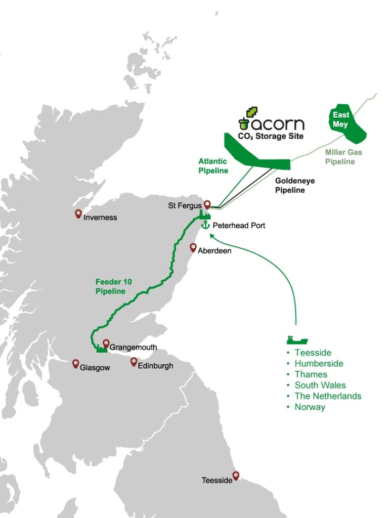 Acorn CCS project