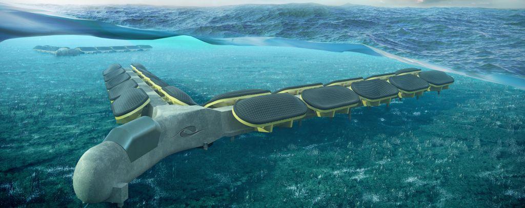 Bombora Wave Power's mWave device concept (Courtesy of Bombora Wave Power)