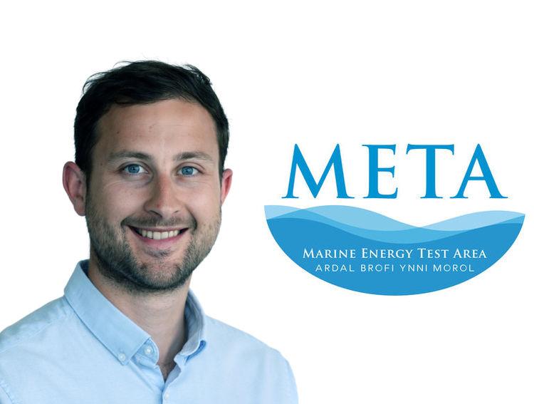 Photo of Tom Hill (Courtesy of Marine Energy Wales)