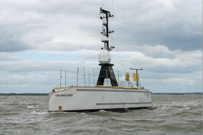 SEA-KIT's USV Maxlimer during recent capability demonstrations.