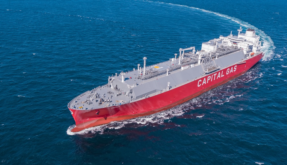 Wärtsilä systems for two Capital Gas LNG carriers