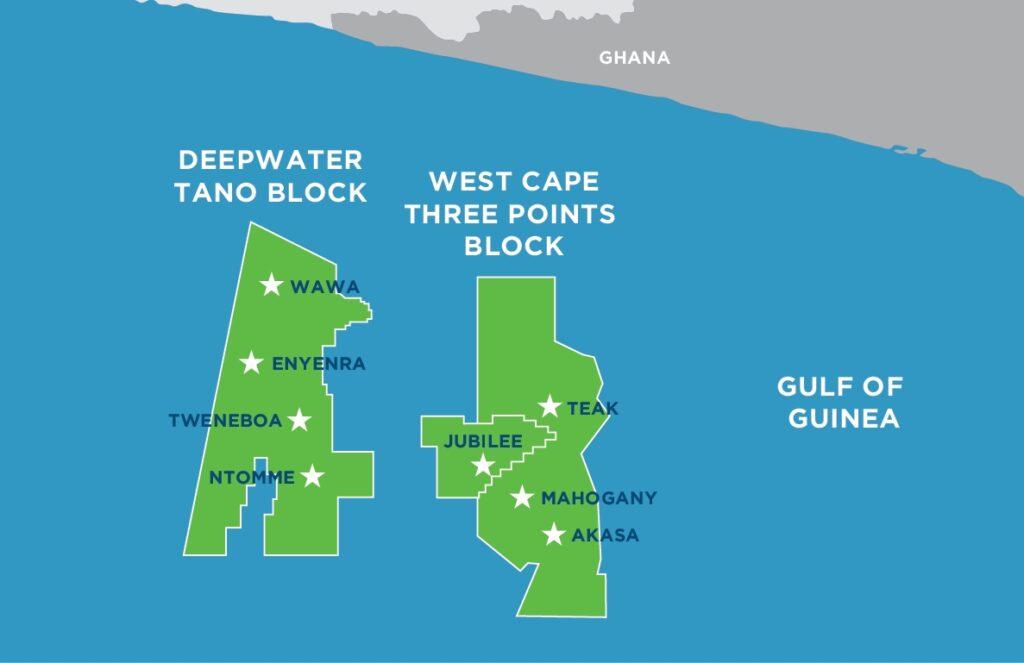 Ghana map; Source: Kosmos