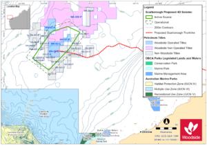 Woodside's Scarborough seismic survey plan open for comments