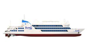 Hyundai Mipo Dockyard cuts steel for 1st smart electric passenger ship